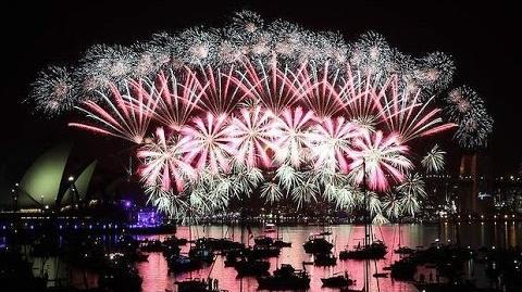 2015 Fireworks Sydney, Australia (New Year Fireworks)