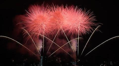 2015年 亀川夏まつり花火大会