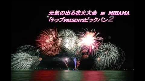 元気の出る花火大会 in MIHAMA「トップPresents ビッグバン2015」