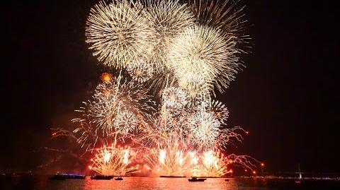 【4K】2014 コロワイド 神奈川新聞花火大会