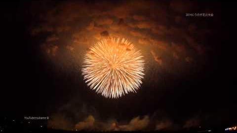 2014 こうのす花火大会 4K ギネス認定「正四尺玉」 鳳凰乱舞~World largest 48 inches shell~Kounosu Fireworks Display