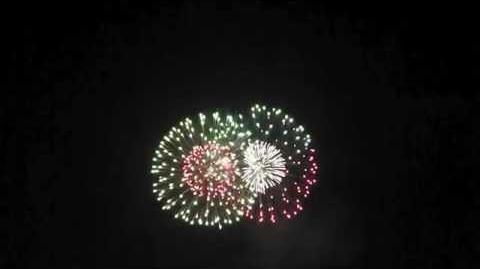 2014 ふくやま夢花火 エンディング Fireworks Show Grand Finale