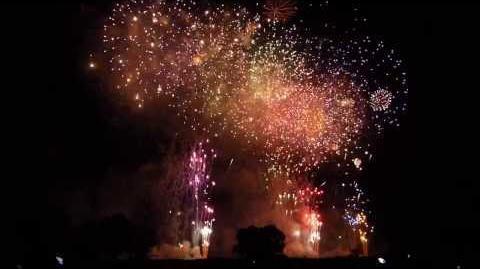 2013 いたばし花火大会 ナイアガラの滝~エンディング