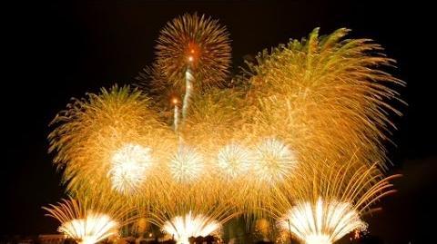 【4K】2014 土浦全国花火競技大会 大会提供花火「土浦花火づくし」