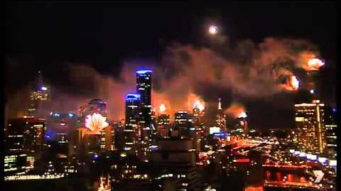 Melbourne, Australia 2015 New Year Fireworks Full Show HD