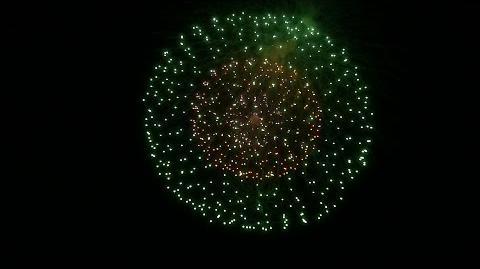 たるみずふれあいフェスタ2015夏祭り 花火打ち上げ(前半)