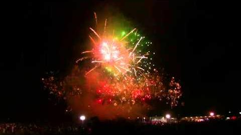出雲神話祭り花火大会2015