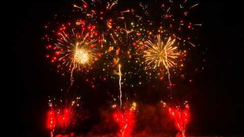 【4K】神明の花火2014 テーマファイヤー 煌(きらめき)花火の町から希望の光~祈・鎮魂と復興~