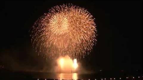 HD 2012 水郷おみがわ花火大会 フィナーレ