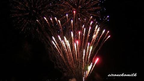 AKB48 恋するフォーチュンクッキー 2014年 日橋川 川の祭典・蔵のまち喜多方夏まつり花火大会