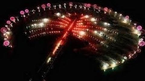 2015 Midnight Fireworks Palm Jumeirah, Dubai (Full Show HD)