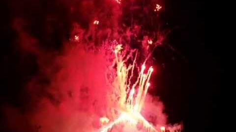 2013桜島火の島祭り 花火フィナーレ