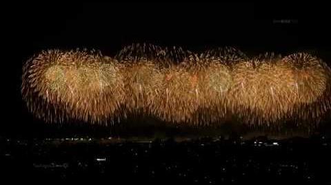 2014 長岡花火 フェニックス 4K Revival prayer fireworks【Phoenix】 2014年8月2日 Nagaoka Fireworks festival