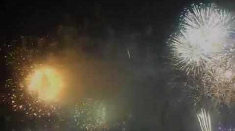 2015戸田橋花火大会フィナーレ