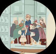 Valentine's School - Teru and his admirers