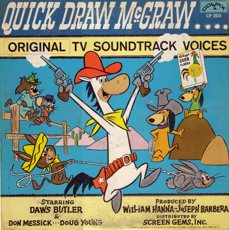 Quick Draw McGraw (Original TV Soundtrack Voices)
