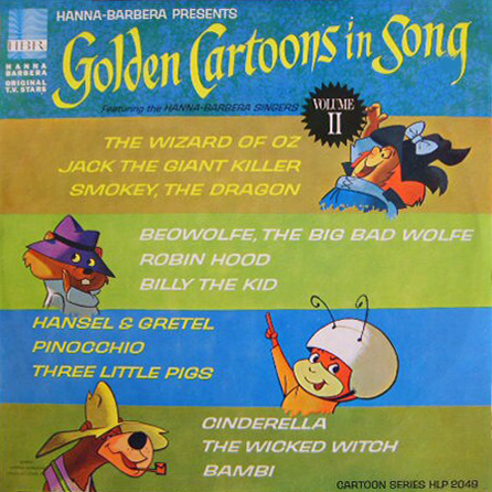 Golden Cartoons In Song Vol. 2