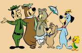 Ranger Smith Yogi Bear Cindy Bear Boo Boo Bear Huckleberry Hound Yakky Doodle