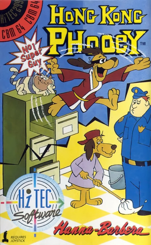Hong Kong Phooey: No. 1 Super Guy