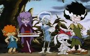 Ghouls standing in a cute way by prentis 65-da1ra3d