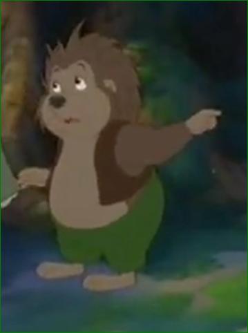 Russel the Hedgehog