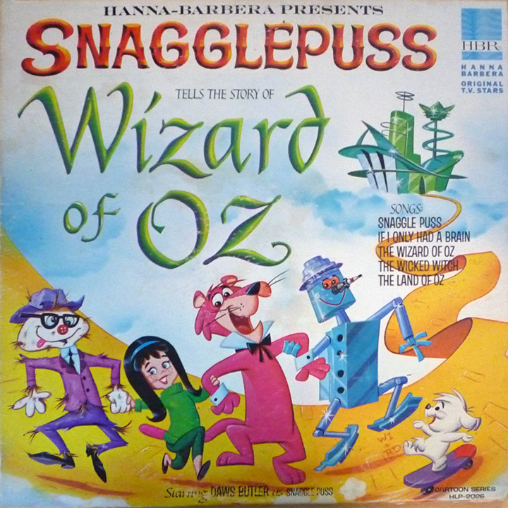 Snagglepuss Tells the Story of Wizard of Oz