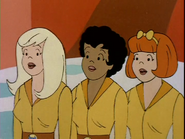 Melody, Valerie and Josie Pussycats Outer Space