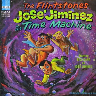 The Flintstones and José Jiminez in The Time Machine