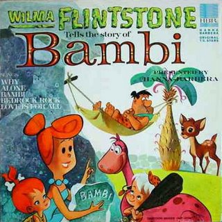 Wilma Flintstone Tells the Story of Bambi