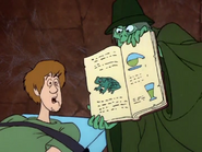 Shaggy Going To Be Turn Into A Frog