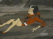 Alexandra in The Mud