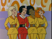 The Girls Pussycats Outer Space