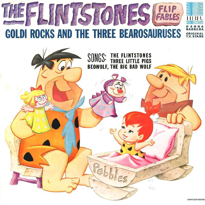 The Flintstones Flip Fables: Goldi Rocks and the Three Bearosauruses