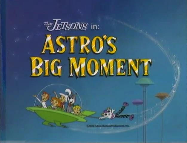 Astro's Big Moment