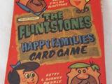 The Flintstones Happy Families Card Game