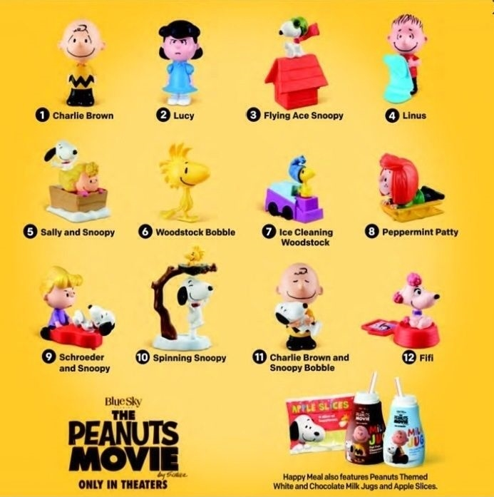 The Peanuts Movie (McDonald's, 2015)