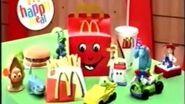 Figuras de Disney Pixar (Anuncio de McDonald 2004)