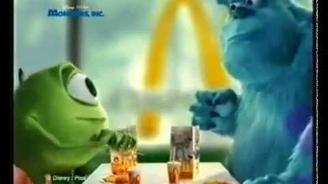 Monsters, Inc. (McDonald's Australia, 2002)