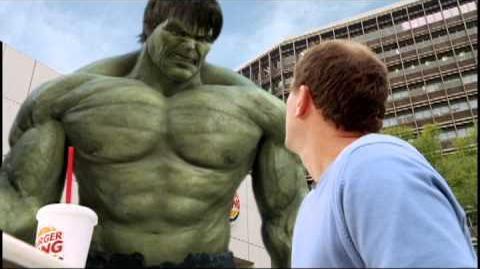 The Incredible Hulk (Burger King, 2008)