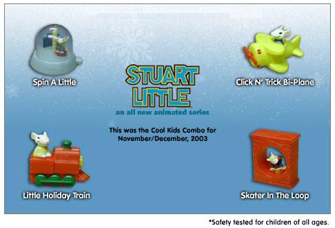 Stuart Little (Hardee's, 2003)