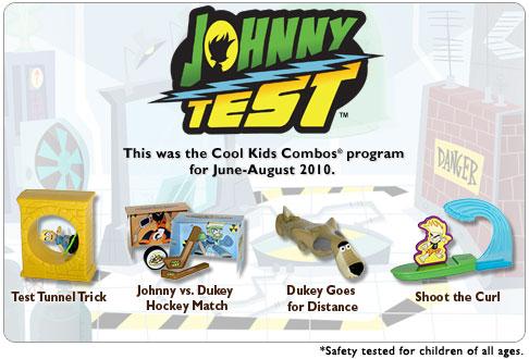 Johnny Test (Hardee's, 2010)