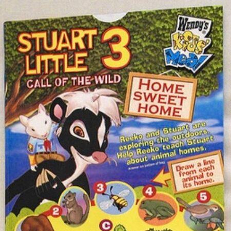 Stuart Little 3 Call Of The Wild Wendy S 2006 Kids Meal Wiki Fandom