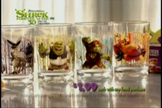 Shrek Forever After 3D glasses (McDonald's, 2010)