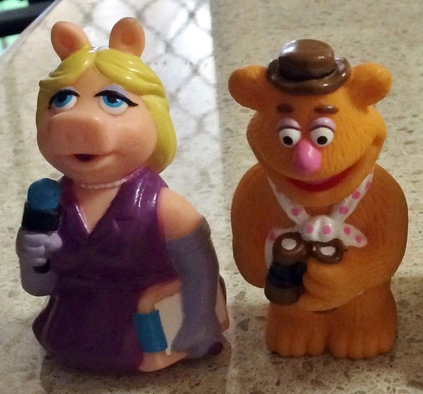 Muppets From Space finger puppets (Hungry Jack's, 1999)
