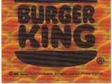 Burger King reflective bicycle stickers (Burger King, 1981)
