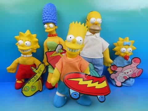 The Simpsons dolls