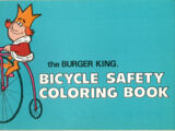 Burger King Bicycle Safety Coloring Book, The (Burger King, 1972)