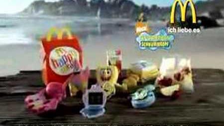 SpongeBob Schwammkopf (McDonalds Germany)