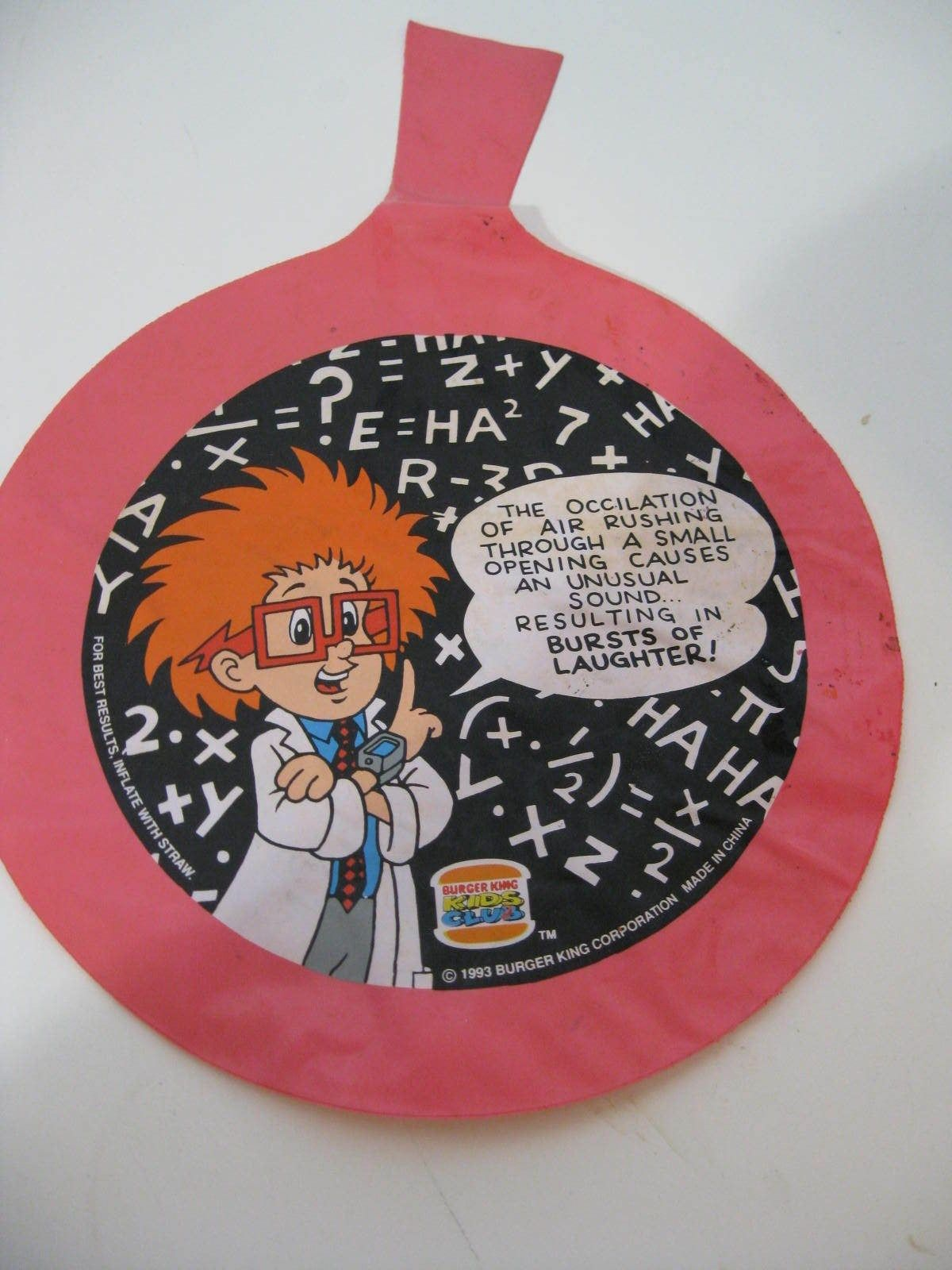 Pranks and Funny Pages (Burger King, 1993)