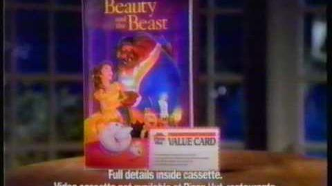 Beauty and the Beast puppets (Pizza Hut, 1992)